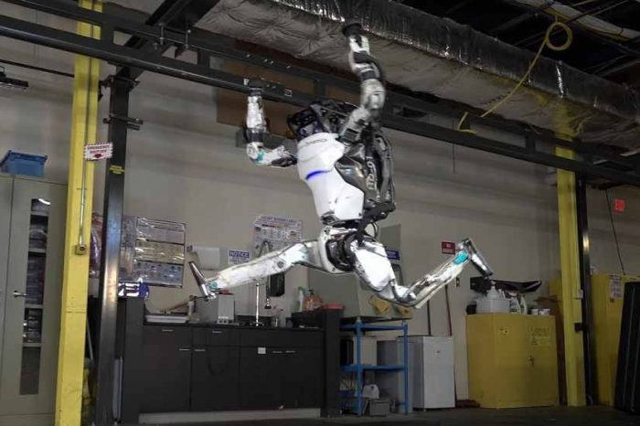 Boston Dynamics' Atlas robot is back. Be very afraid... Atlas can now perform impressive gymnastics routines