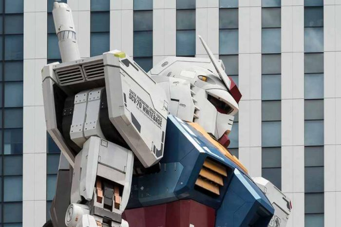 Giant Gundam robot moving in Japan harbour sets Twitter ablaze with over 6 million views in just one week