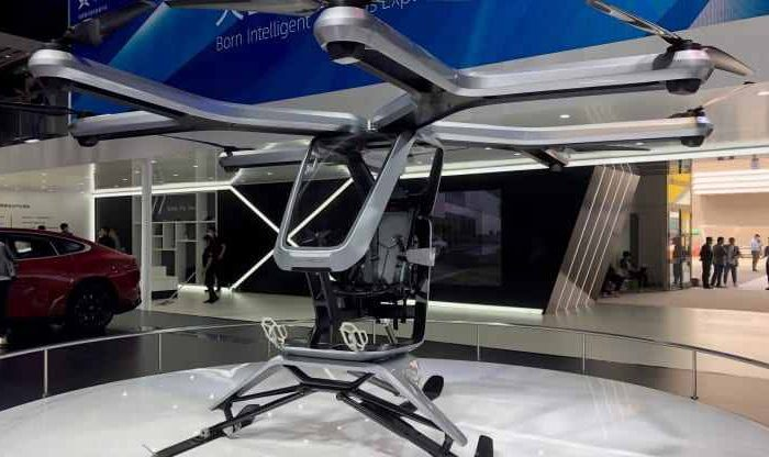 Chinese Tesla rival Xpeng unveils a new flying car