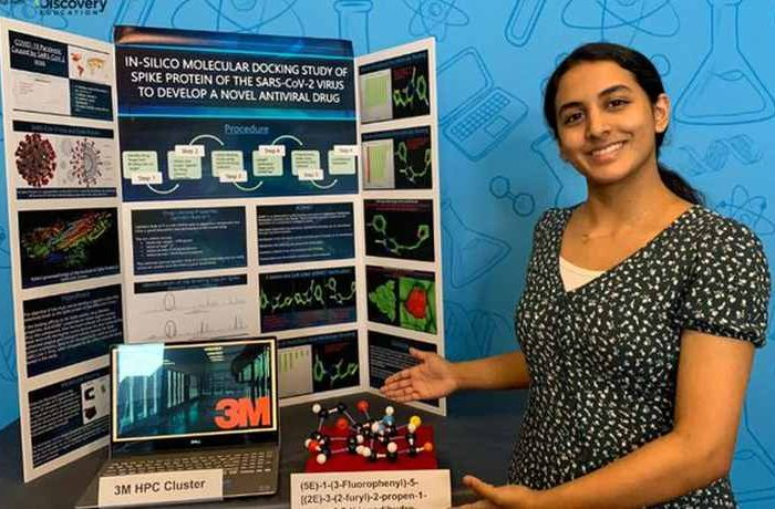 14-year old Indian-American teenager Anika Chebrolu discovers a molecule that could lead to a potential COVID-19 therapy