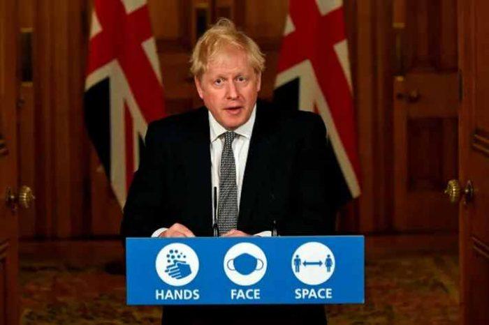 British Prime MinisterBoris Johnson announces national lockdown until December 2 as coronavirus cases top 1 million