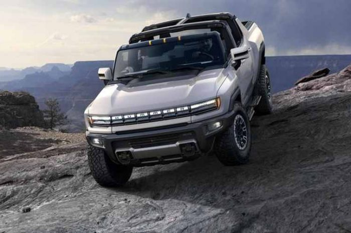 Hummer EV, GM's first all-electric truck and rival to Tesla's Cybertruck, sold out in the first 10 minutes of opening the pre-orders