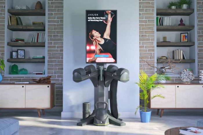 Fitness tech startup JAXJOX raises $10M in Series A funding for its AI-powered InteractiveStudio, an all-in-one, connected home gym and fitness studio