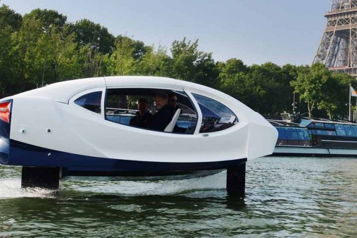 Forget about a yacht, SeaBubbles is the flying river taxi of the future
