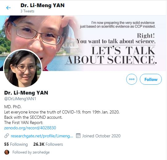 "Chinese coronavirus whistleblower Dr. Li-Meng Yan just published her second coronavirus scientific report: ""SARS-CoV-2 Is an Unrestricted Bioweapon"" 