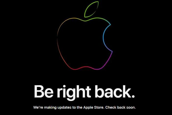 Apple Store is down ahead of 'One More Thing Mac' event
