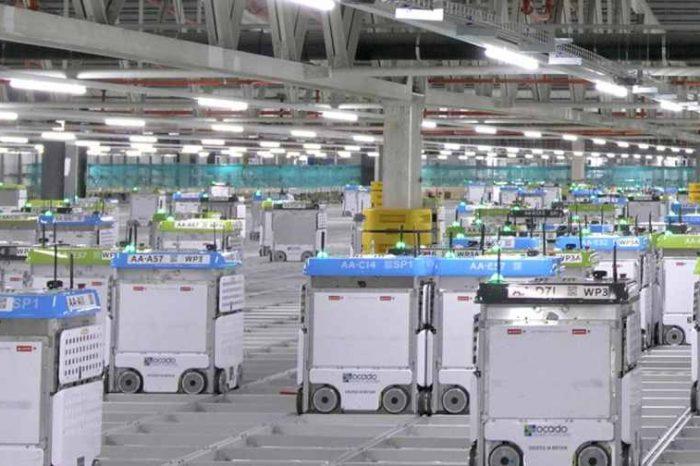 British online supermarket Ocado acquires two U.S. robotics startupsKindred System for $262 million andHaddington Dynamics for $25 million