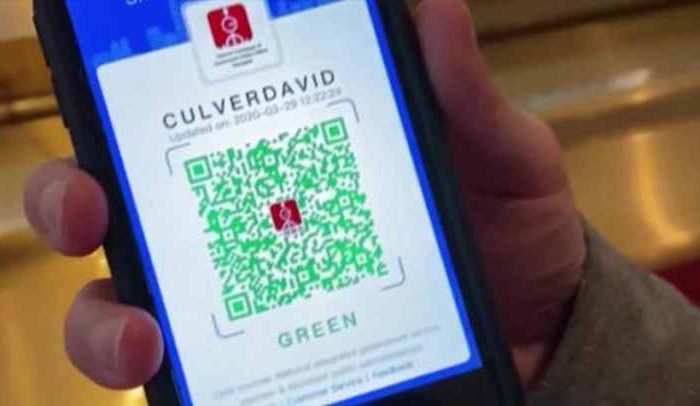"China is pushing for QR code-based global travel system to ""facilitate the orderly flow of people"" around the world"