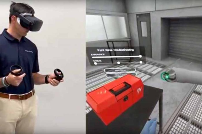 TRANSFR VR, a virtual reality startup raises $12M in Series A funding to help displaced workers retrain for new jobs