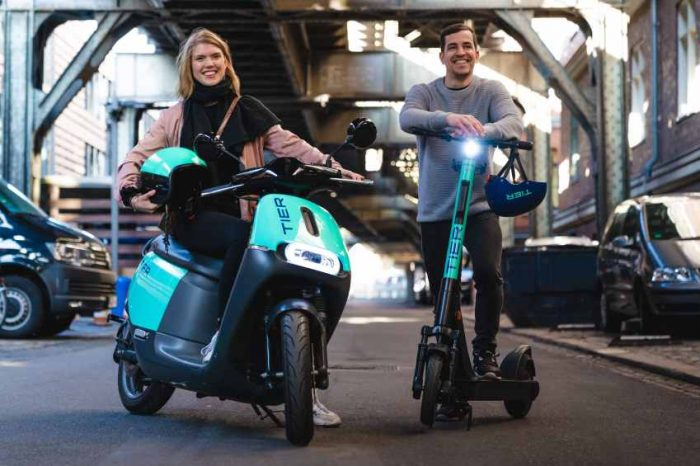 SoftBank bets big on electric scooter with $250 million investment in Germany's e-scooterrental startup Tier Mobility