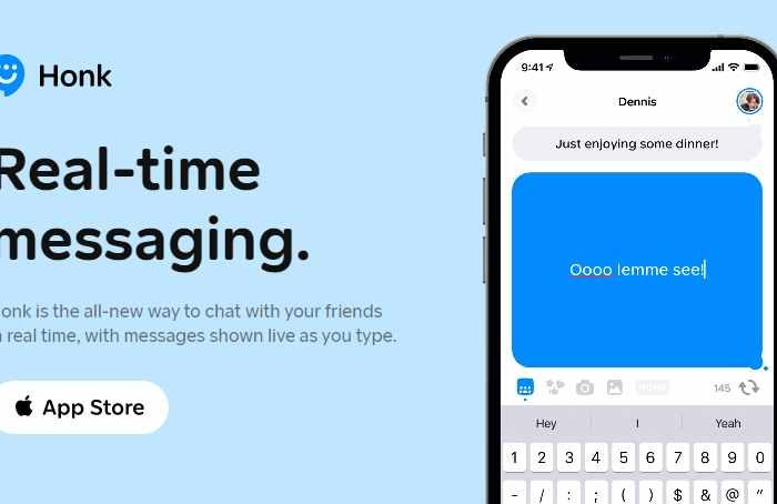 Honk is a new real-time messaging app taking the internet by storm