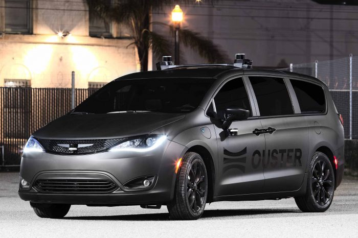 Robocar LiDAR startup Ouster is going public through a SPAC at $1.9 billion valuation
