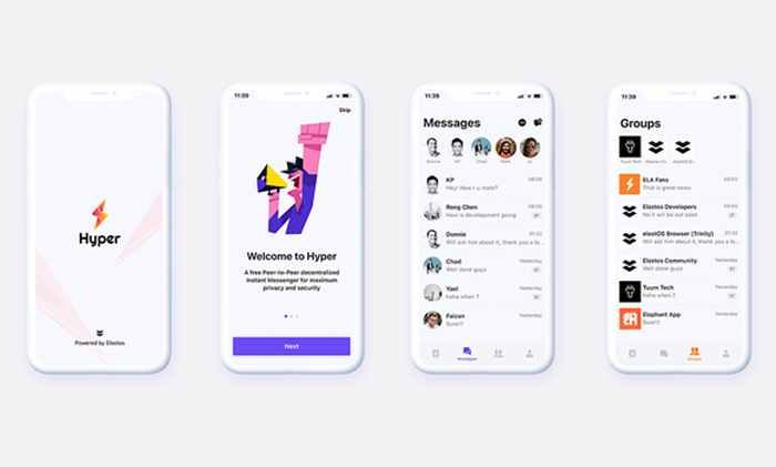 Elastos Community Launches Hyper Messenger, An Encrypted, Blockchain DID-based Competitor to WhatsApp and Signal