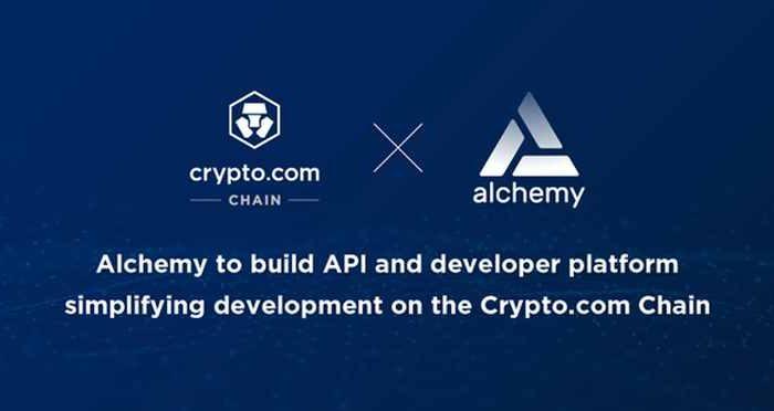 Crypto.com partners with Alchemy for the Crypto.com Chain