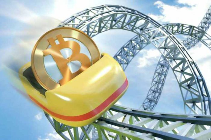 Bitcoin rollercoaster ride continues as the world's most popular cryptocurrency lost 10% of its value in 2 days
