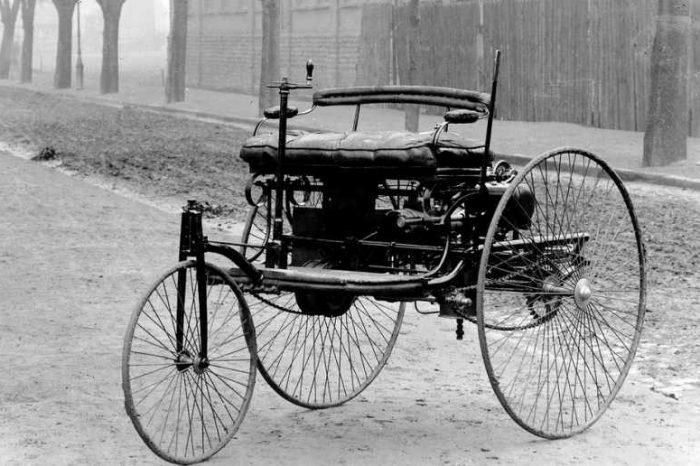 Today in history: Karl Benz patents the first successful gasoline-driven automobile on January 29, 1886