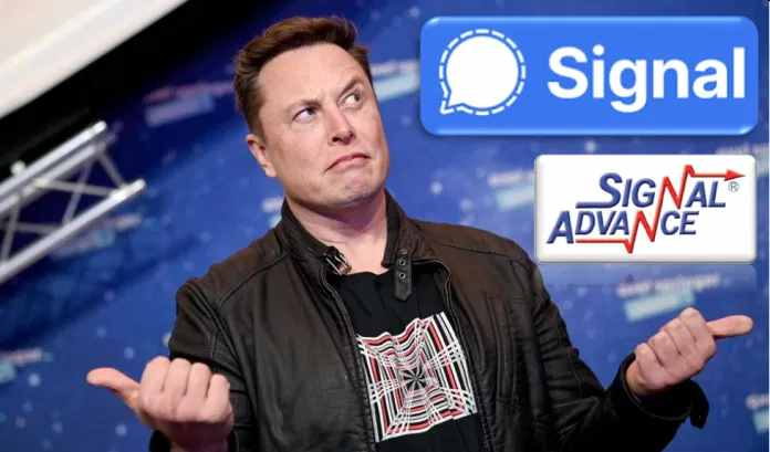 Signal Advance, a one-man startup that has nothing to do with Elon Musk's recommended company Signal, now has a market cap of $421.6M after its stock surged by 1,100%