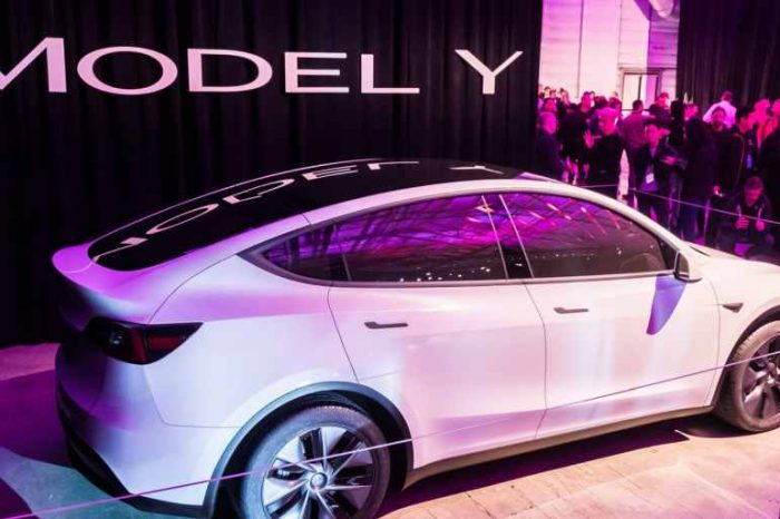 Tesla Model Y now has the lowest rollover of any SUV or CUV ever tested by NHTSA; achieves 5-star overall safety rating
