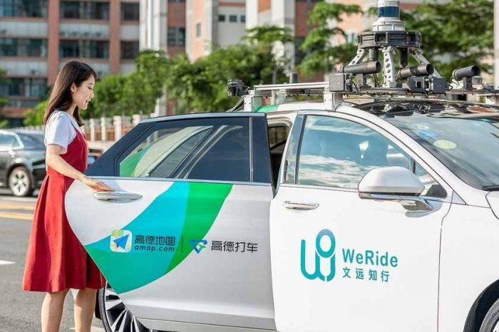 China's driverless car startup WeRide acquires autonomous trucking startup MoonX.AI