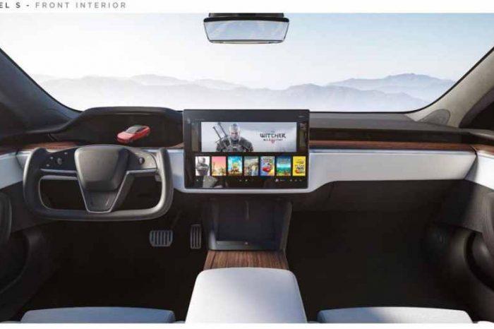 "Cyberpunk 2077 game developer's stock surges afterElon Musk tweeted that Tesla's new Plaid Model S sedan ""can play Cyberpunk"""