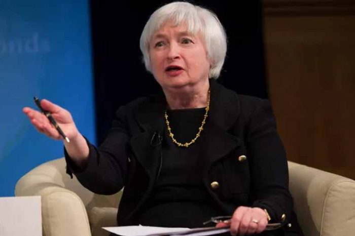 Former Federal Reserve chair Janet Yellen changes her tune on the roles of the US Central Bank in regulating cryptocurrencies