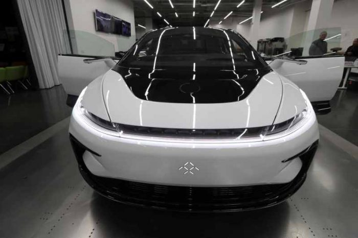 Electric-vehicle startup Faraday Future to go public via SPAC at $3.4 billion valuation