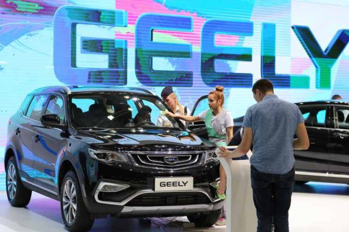 China's Geely, the parent company of Volvo, teams up with Tencent to develop smart car technology