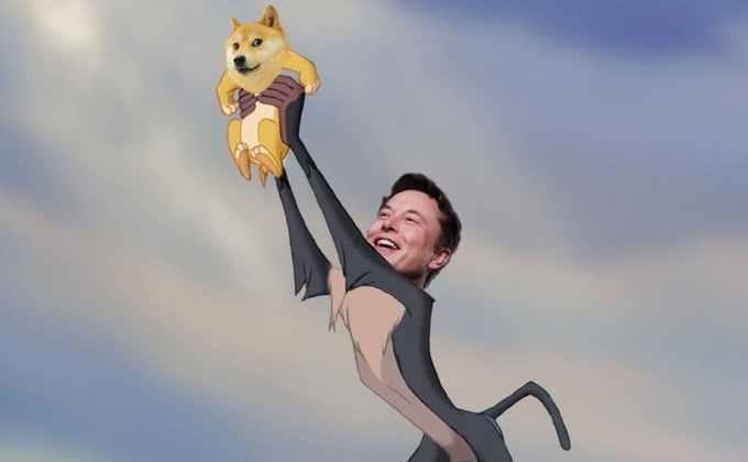 Elon Musk is back on Twitter promoting Dogecoin