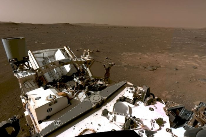 NASA shares Perseverance Rover's first 360 view of Mars