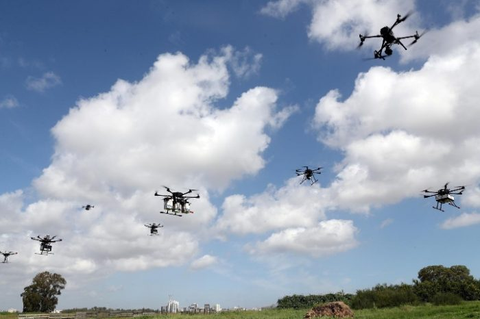 Israeli town abuzz with delivery drones in coordinated airspace test