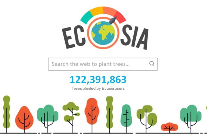 Ecosia is the search engine that plants trees;removes over 50,000 metric tons of CO2 from the atmosphere each month