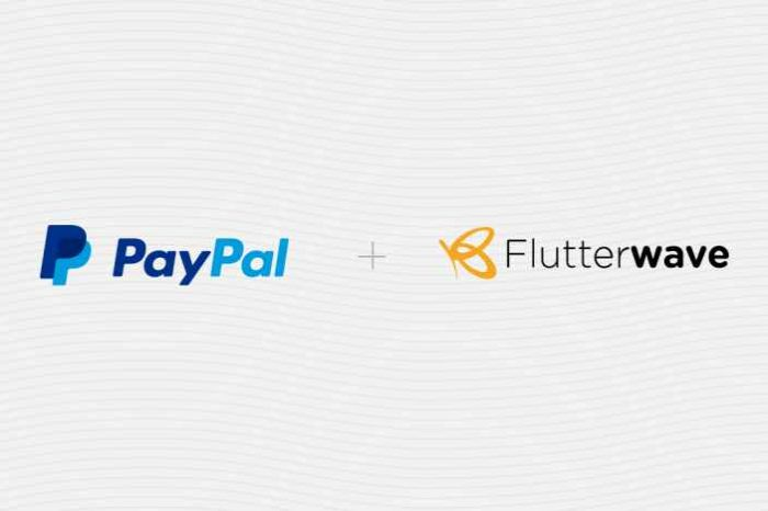 Flutterwave teams up with PayPal to allow African merchants to accept and make payments