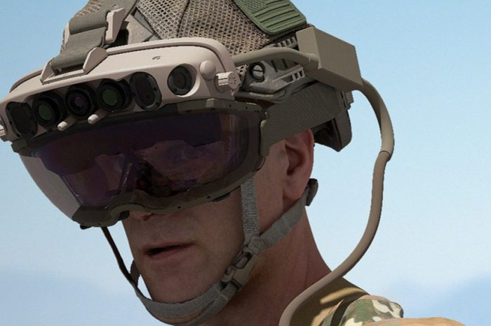 Microsoft wins a $21.9 billion contract to build augmented-reality Hololens headsets for the U.S. Army