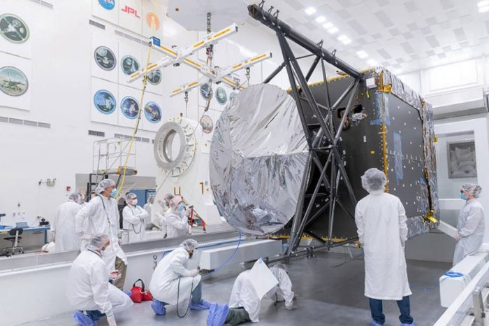 NASA begins the final assembly of spacecraft destined for asteroid Psyche,a giant metallic asteroid estimated to be worth $700,000 quadrillion