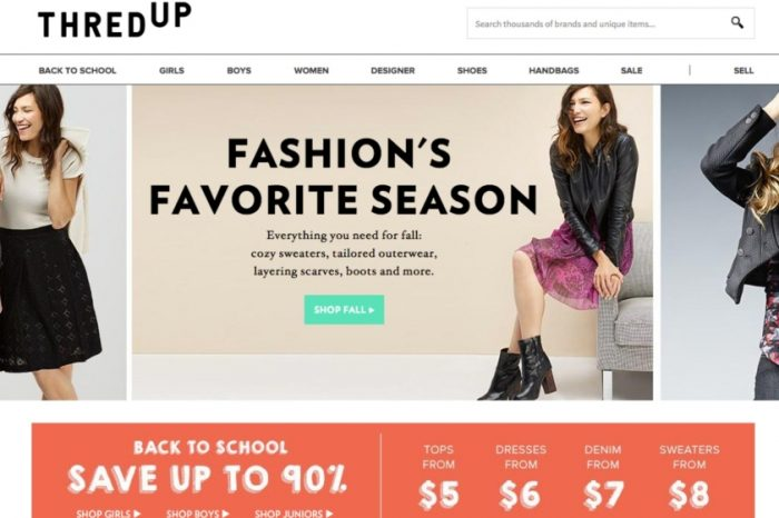 Goldman-backed secondhand clothing startup ThredUp files for IPO