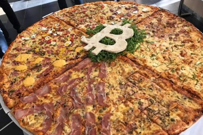 This man paid 10,000 bitcoins for two large pizzas from Papa John's ten years ago