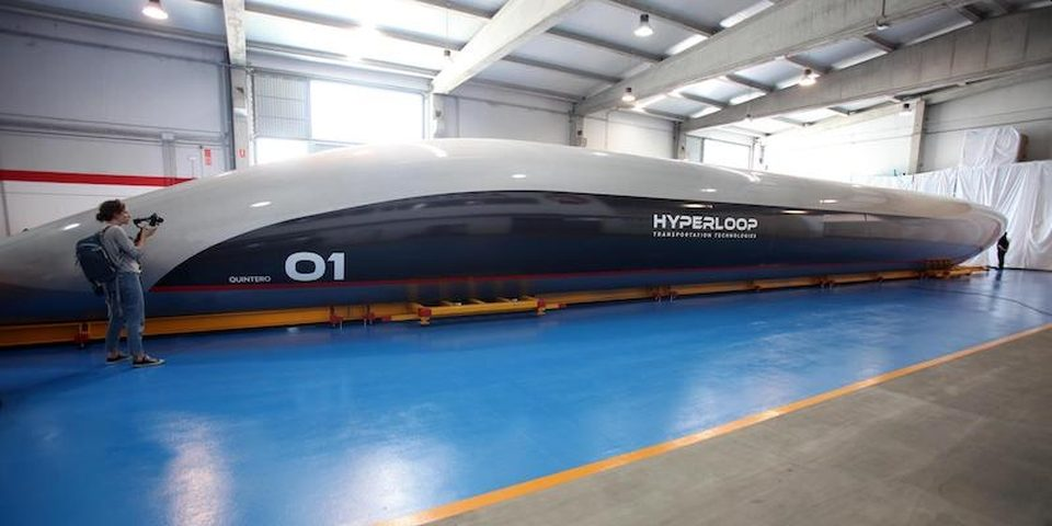 The 760 miles per hour Hyperloop could become the fastest way to travel andforever changethe future of transportation