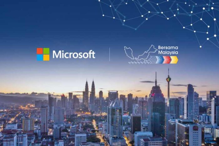 """Microsoft to invest $1 billion to set up data centers in Malaysia as part of the """"Bersama Malaysia"""" initiative"""