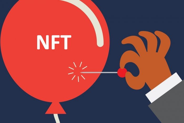 "NFT Bubble will soon burst after people find out they are paying millions of dollars to buy only bits of code that ""point"" to an artwork on the internet"