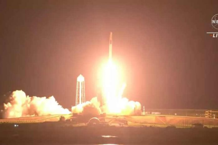 SpaceX successfully launches astronauts into space; third crewed mission to the International Space Station (ISS)