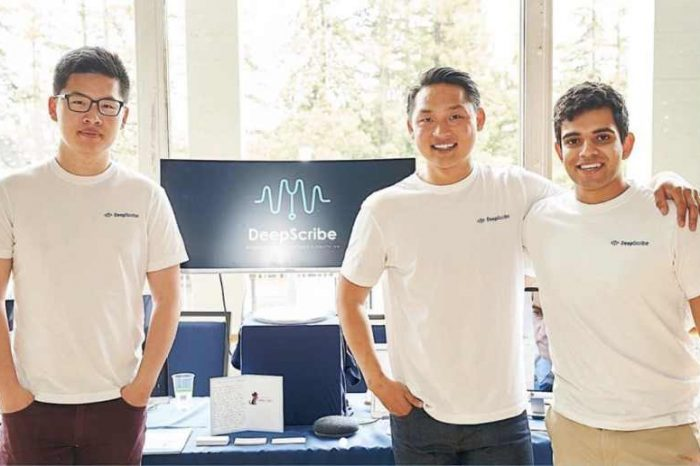 AI tech startup DeepScribelands $5.2M seed funding to develop the holy grail for physicians with itslife-changing AI assistant