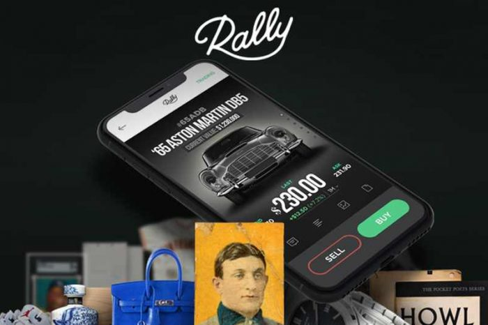 New York-based tech startup Rally raises $30M in funding to enable retail investorsto invest in one-of-a-kind collectible assets