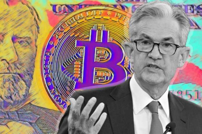 """Federal Reserve Chair Jerome Powell: """"Cryptocurrencies are highly volatile and therefore not really useful stores of value and they're not backed by anything"""""""