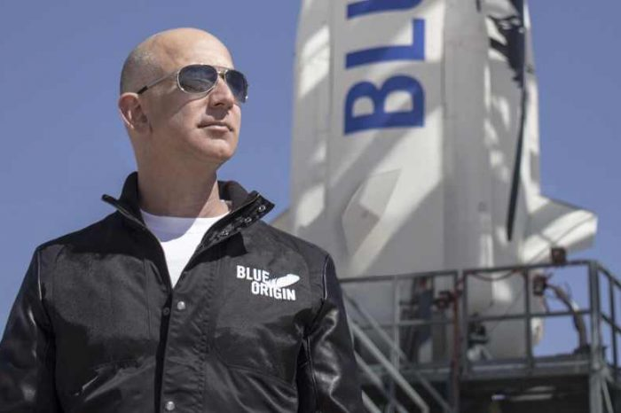 Jeff Bezos is heading to space aboard his company Blue Origin spacecraft's first human flight on  July 20