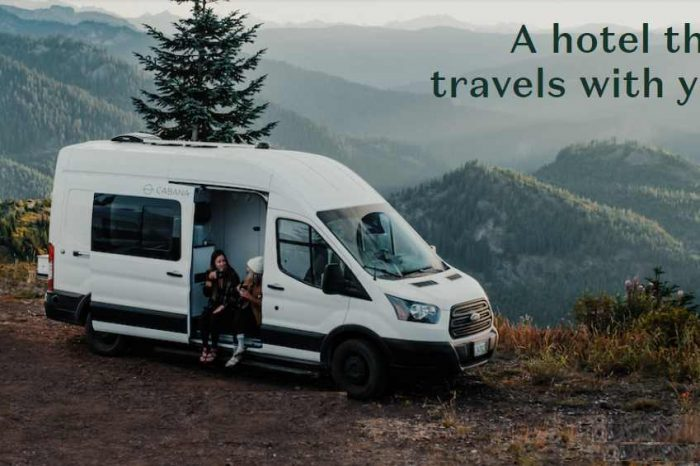 Seattle-based travel tech startup Cabana raises$10M in Series A funding to turns vans into bookable mobile hotels