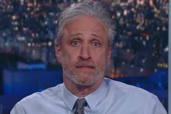 """""""We owe a great debt of gratitude to science for easing the suffering of the pandemic likely caused by science,"""" Jon Stewart says"""