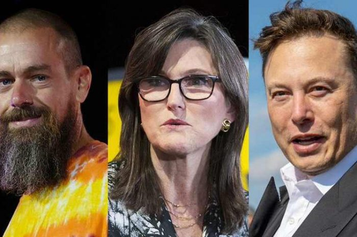 """Elon Musk, Twitter founder Jack Dorsey and Cathie Wood will be at a one-day""""The ₿ Word"""" summit to discuss the role of Bitcoin for institutions around the world"""