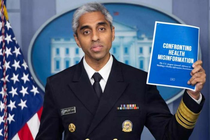 U.S. Surgeon General demands big tech crackdown on users to combat Covid misinformation; made more than $2 million doing pandemic consulting work