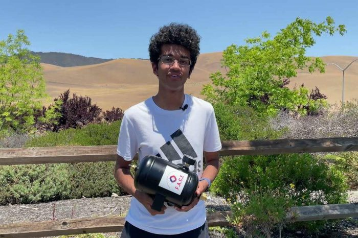 Meet Arul Mathur, a 17-year old high school student whoinvents a new kind of fire extinguisher to save homes from wildfires