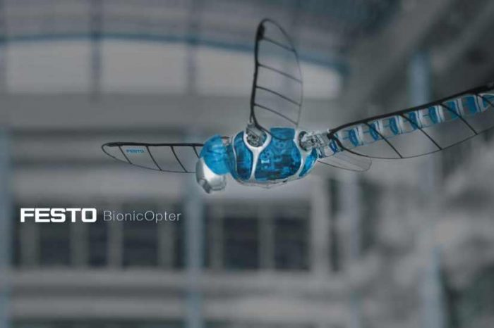 Meet the BionicOpter, a robotic dragonfly that masters the highly complex flight characteristics of insects